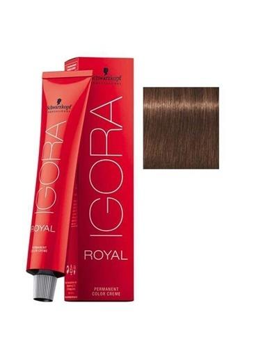 Schwarzkopf Igora Royal No:6-6 Koyu Kumral-Çikolata Saç Boyası Kahve